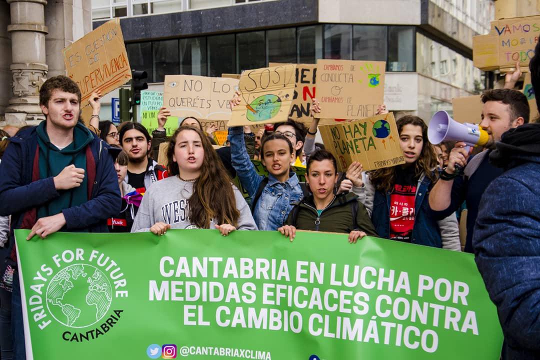 Manifestación Cambio Climático 24/05/19 SANTANDER