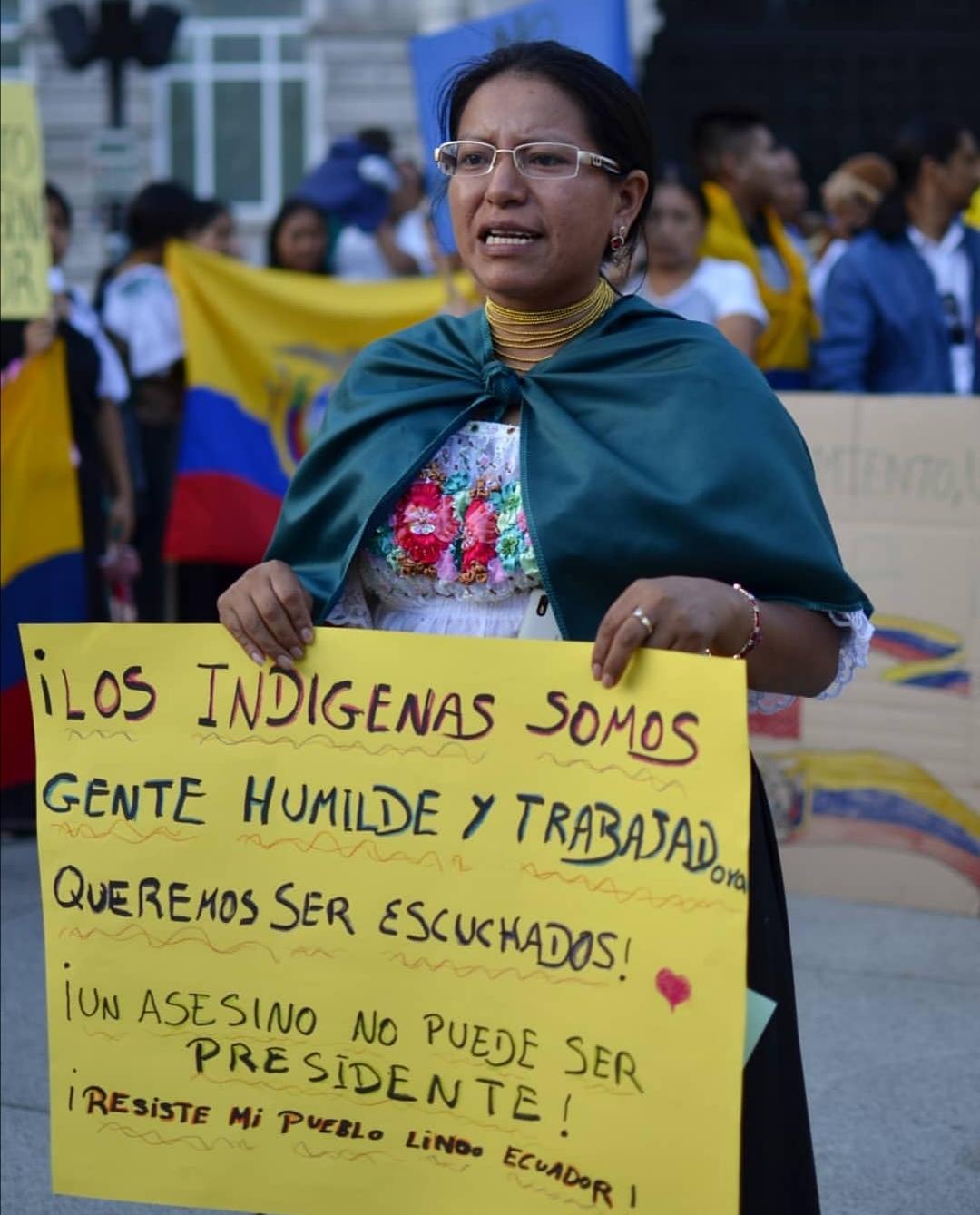 Concentración contra el paquetazo de Lenin Moreno 14/10/19 – Santander